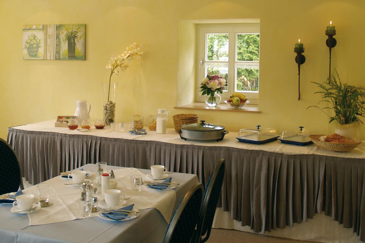 Frühstück im Gästehaus Zum Stehling