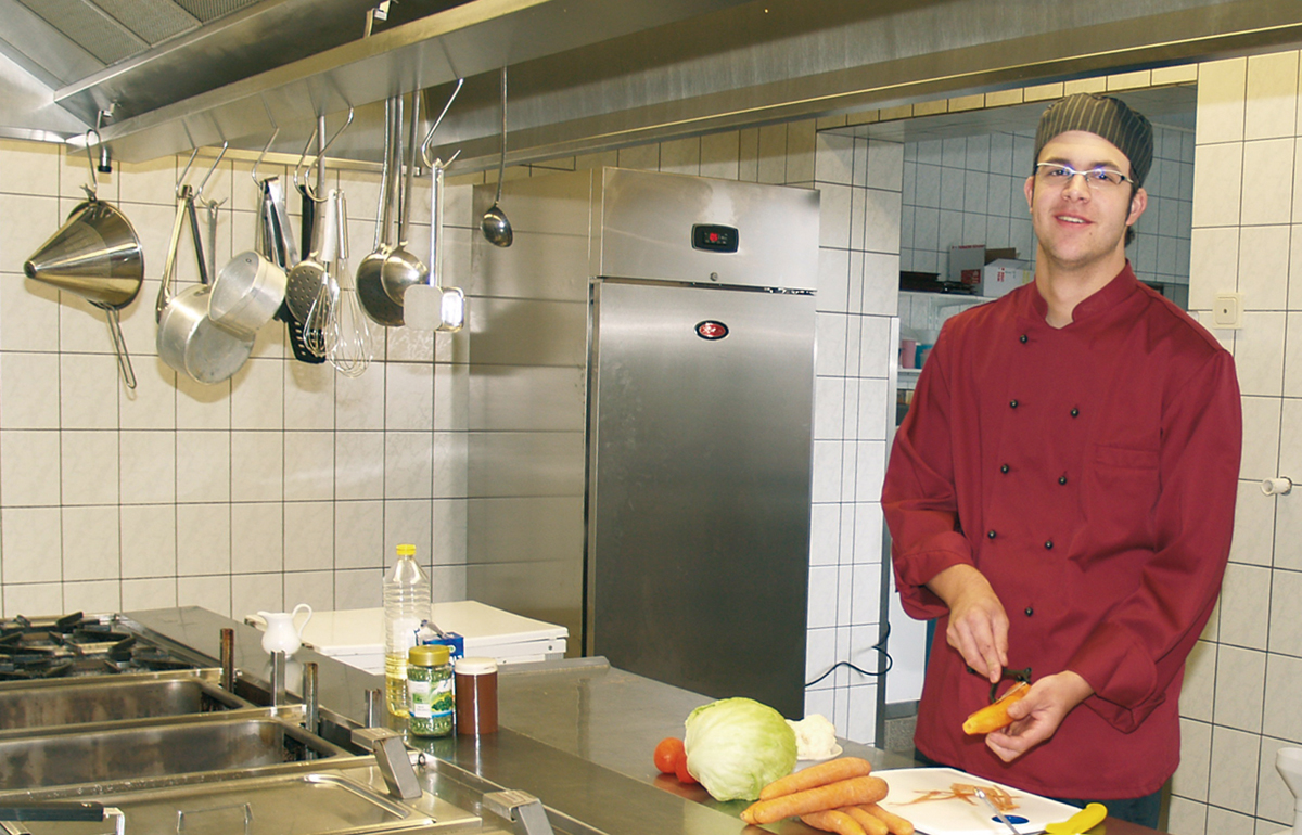 Marc Roeben - Küchenchef im Gästehaus Zum Stehling