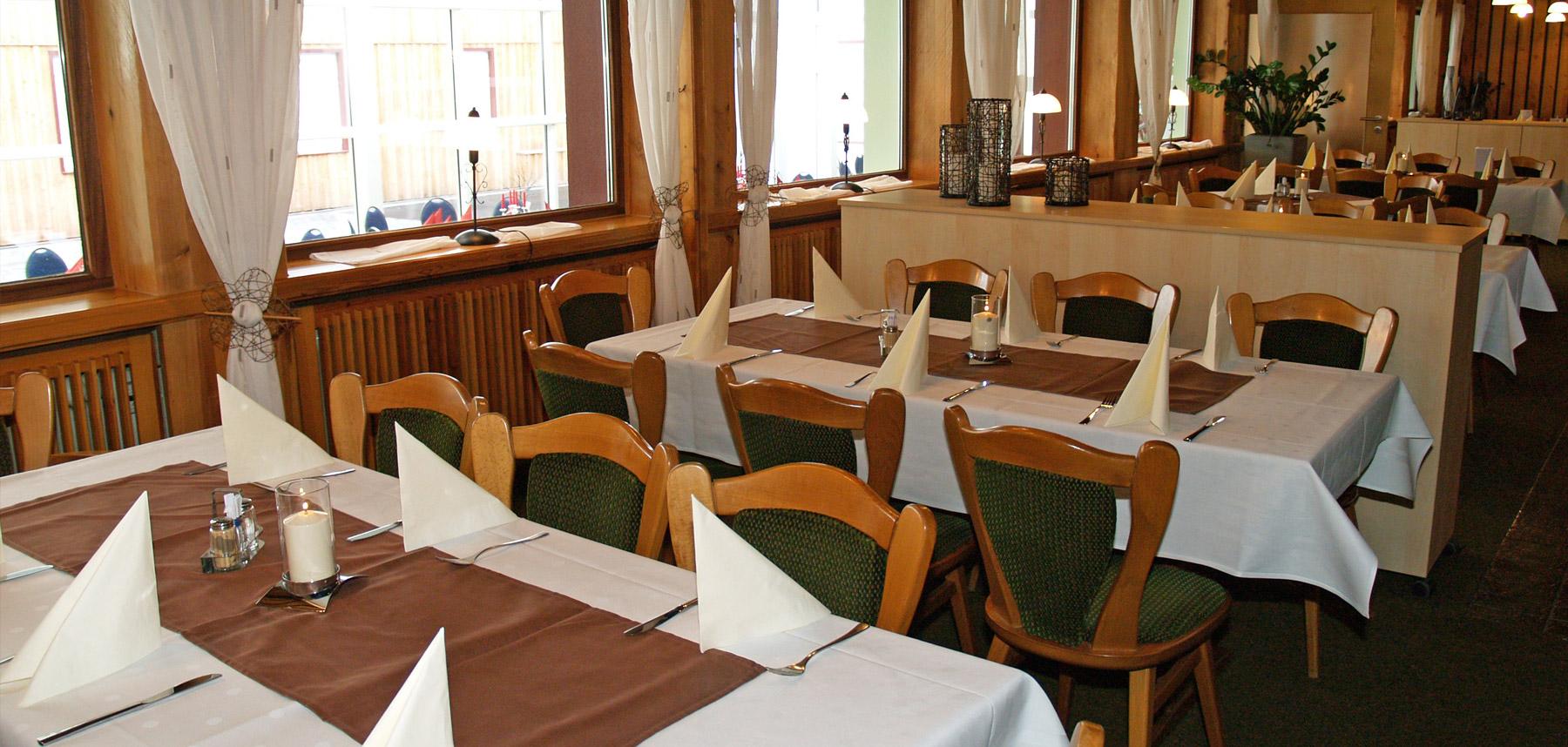 Restaurant im Gästehaus zum Stehling